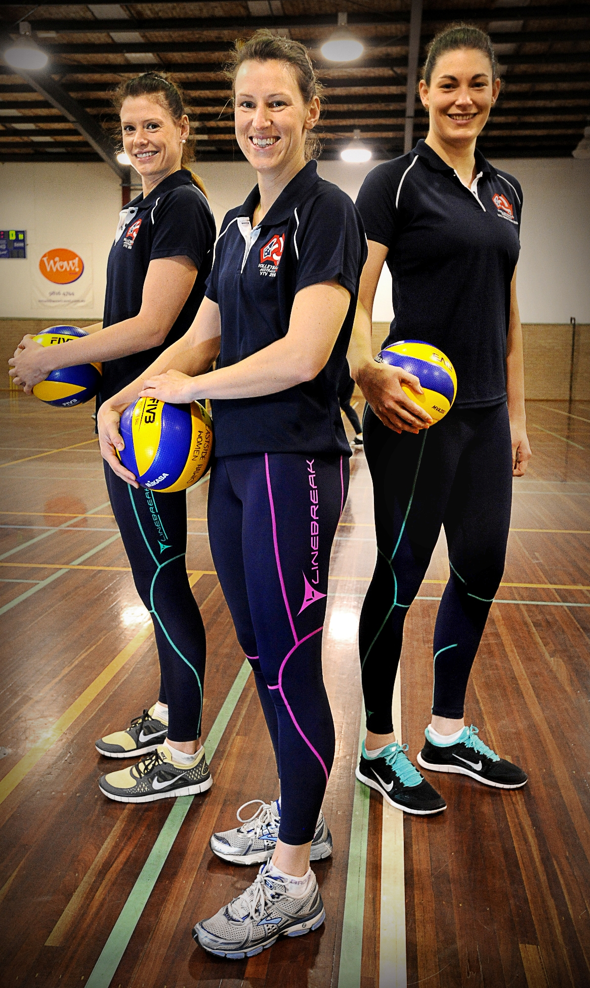Volleyball  Australian Womens Volleyball Team-7405